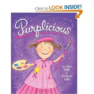 Amazon.com: Purplicious (Pinkalicious) (9780061244056): Elizabeth Kann, Victoria Kann: Books
