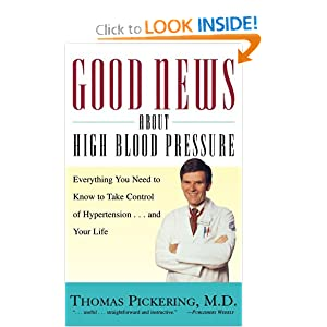 Click to buy Hypertension Symptoms: Good News About High Blood Pressure: Everything You Need to Know to Take Control of Hypertension...and Your Life from Amazon!