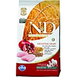 Farmina Natural And Deliciou LG Chicken And Pomegranate Adult Dog Food, 2.5 Kg (Medium)