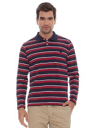 Marengo Camisa Rayas (Rojo)
