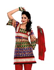 Rajrang Unstitched Cotton Salwar Suits Women's Wear Dress Material - B00MFN59YC