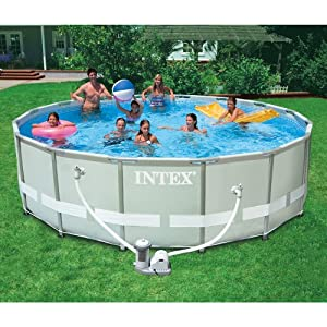 Above Ground Swimming Pool 16 39 X 48 Round Set Kit New Ebay