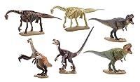 ミニチュア キューブ miniQ 恐竜発掘記8 恐竜造形大博覧会 8個入 BOX