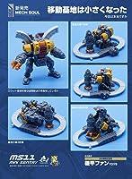 Mech Soul/Mech Fans ToysStyle Mini Senxtry MS-11 & MF-34 Tank Hxead