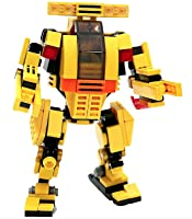 Mybuild Patented Block Building Toy The Engineer Machinery Bricks to Fantastic Robot by MyBuild