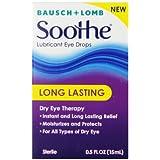 Soothe Long Lasting Lubricant Eye Drops, 15 Ml, 0.50 Fluid Ounce