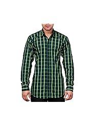 NativeAge Men's Slim Fit Cotton Casual Shirt [Multicolour]