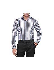 NativeAge Men's Slim Fit Cotton Formal Shirt [Multicolour] - B00MNGO4NS