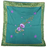 Design Adda Set Of 2 Cushion Covers With Trendy Border Running On All Sides And Embellished With Lovely Embroidery... - B00MITN38W